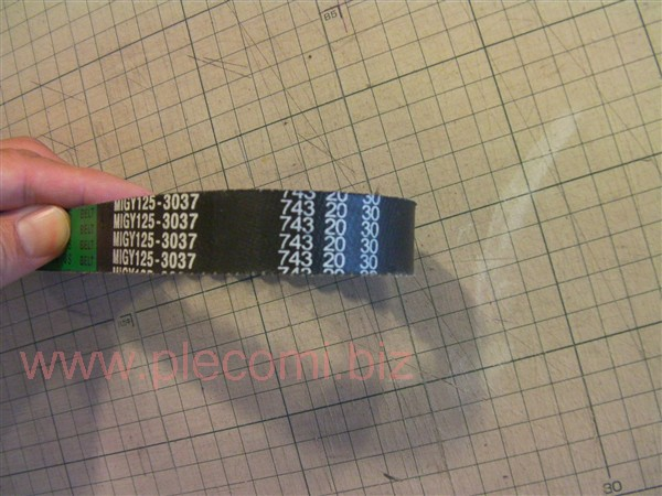 JF04 GY6 キムコ CPI E彩 Vベルト 743mm x 20mm 社外 MORTCH