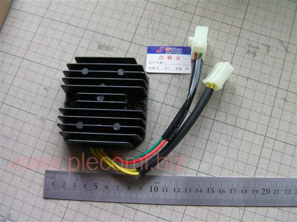 スペイシー125 JF03 JF02後期 フュージョン MF02 CD125T レギュレーター 5線 JP