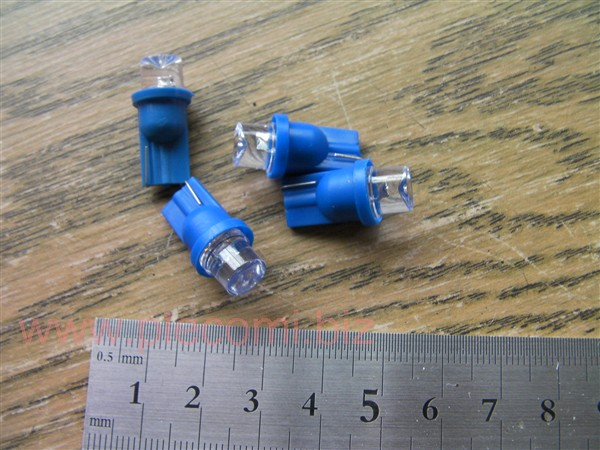 メーターランプ ライト ポジション ウェッジ球 メーター球 LED ブルー  5Wクラス  T10