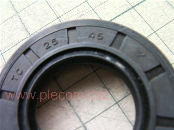 ビラーゴ250 XV250 レフトケース オイルシール ドライブシャフト用 中国社外 25 47 7