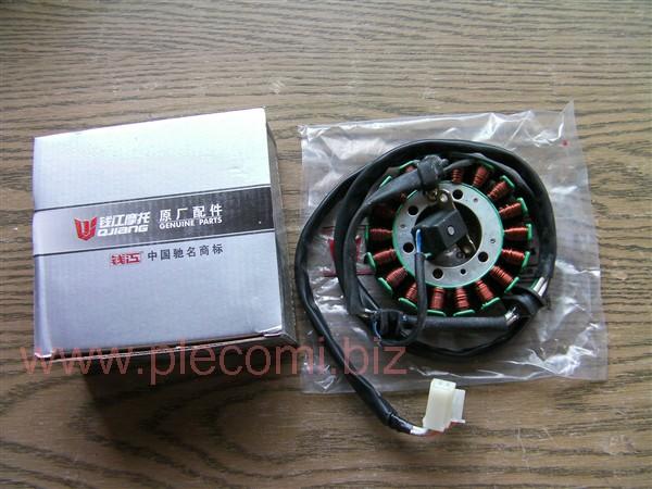 ビラーゴ250 XV250 XV125 VIRAGO ジェネレーター コイル ステーターコイル ゼネレータ 中国純正 QJ