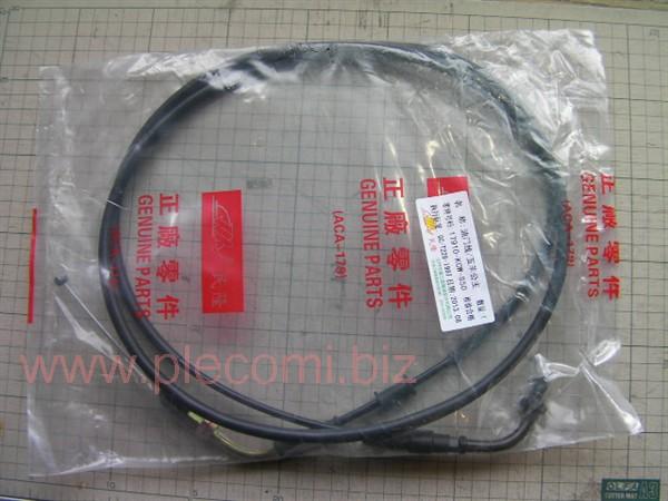 スペイシー125 JF04 アクセルワイヤ スロットルケーブル 中国社外 17910-KCW-000