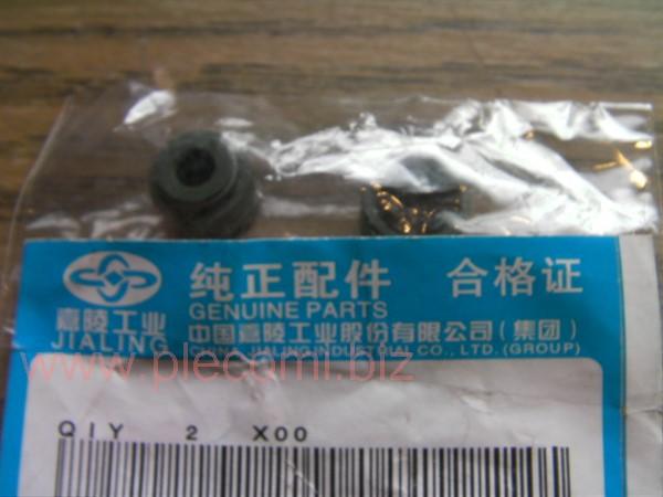 スペイシー125 100 CD125T CB125T E彩 バルブステムシール オイルシール 中国純正 JL