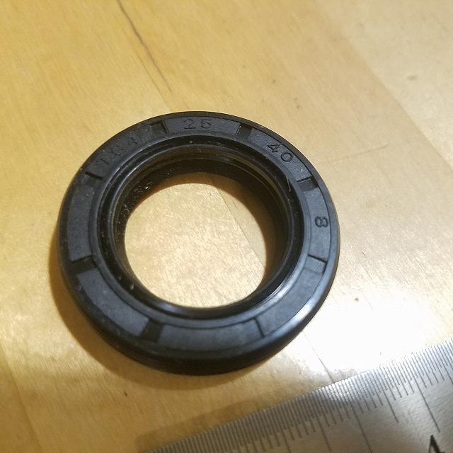 スペイシー125 JF02 JF03 クランクレフトシール1mm加厚 オイルシール 25x40x8 TG