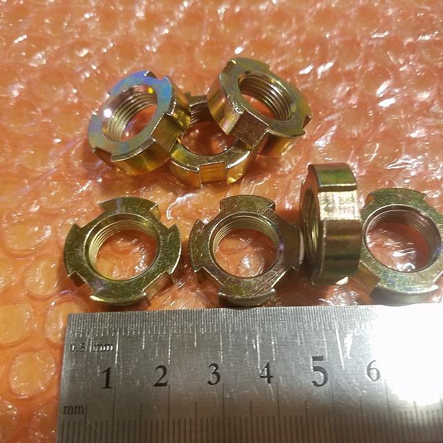 カブ モンキー クラッチロックナット クラッチ ロック ナット  M14 P1.00 厚さ7mm 中国社外