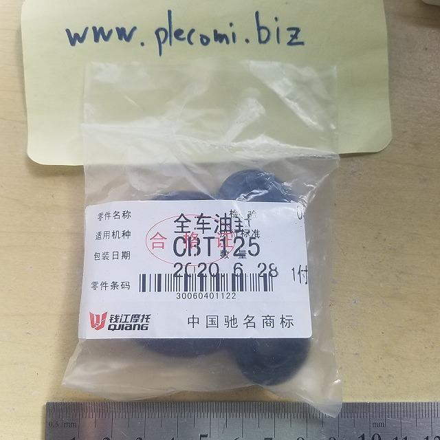 CB125T (CD125T) クランクシャフト ギアボックス オイルシール 8個 セット 中国純正QJ