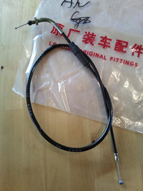 CB125T チョーク ワイヤー ケーブル 中国純正  QJ 要加工