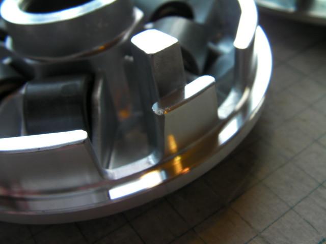 E-彩 E彩125 SDH125T  プーリー セット 軽量 ボス短め 50mm 中国社外