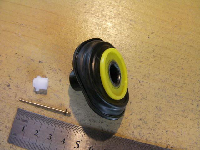GY6 50cc キムコ CPI ロンシン キャブレター用 ダイヤフラム アッシ 16mm ニードルつき