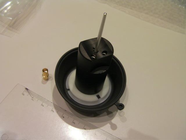 GN125 GS125 EN125 GZ125 中国社外 ダイヤフラムアッシ キャブレター用 ポッチ ニードルホルダつき