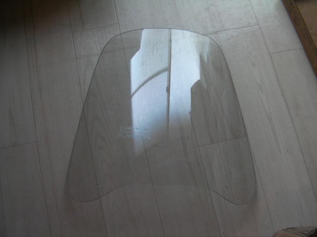 CB125T (CD125T) ウィンドスクリーン 3mm厚 大型 風防 セット 角ライト用 中国純正系  日本メーカー