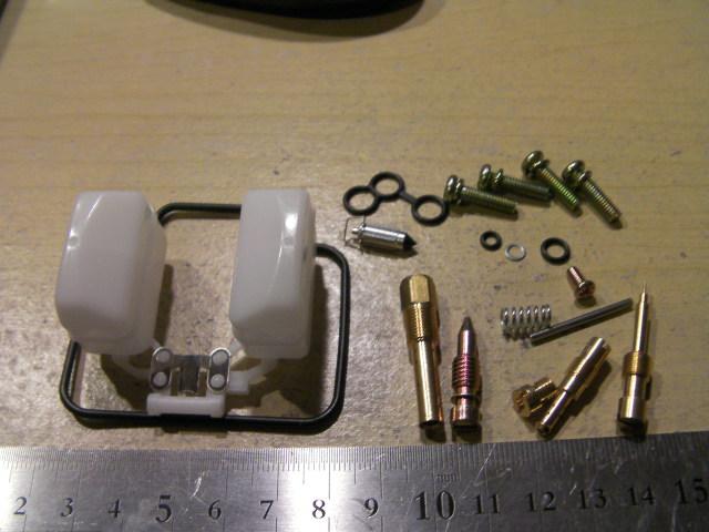 スペイシー125 JF04 キャブレター リペアキット Oリング ガスケット タイプ2