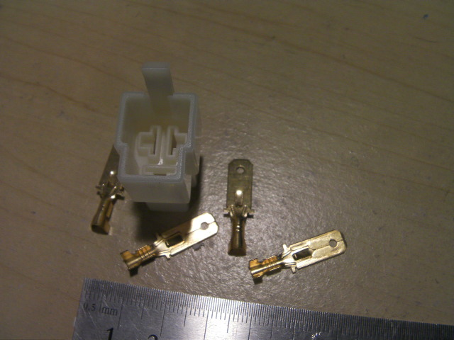 ジェネレータコイル レギュレーター 接続用 3ピン メス 3pカプラ センタータイプ セット DIY レストア