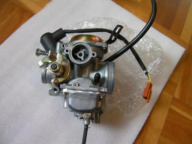 ベクスター ヴェクスター 125 キャブレター 新品 ミクニ BS26 中国 旧型 キャブヒーター穴つき
