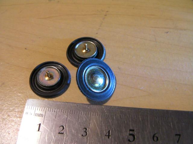 ヴェクスター キャブレター用 ダイヤフラム小 エアーカット バルブ  BS26用