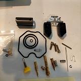 PZ26 PD26 キャブレター リペアキット Oリング ガスケット 油面調整式フロート (中華CD125Tに)