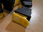 セルスイッチ スターター スイッチ 小 小型タイプ 汎用 中国社外 黄色